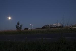 Der Kaliberg unter dem Moonlicht.