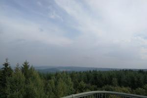 Blick aus dem Aussichtsturm.