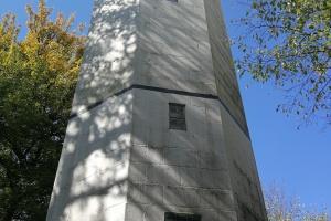 Der Taffelturm.