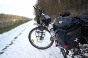 Wintertouren können auch super sein. Wie das Tour heute.