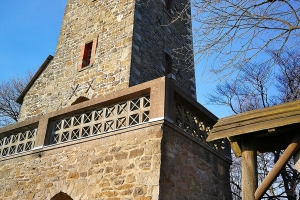 Klippenturm in der Nähe von Rinteln.