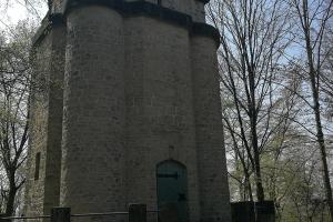 Bismarckturm in Hammeln. Leider geschlossen.