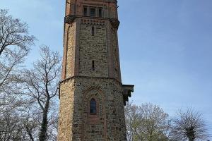 Klütturm in Hameln. Der Turm war zu.