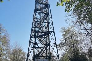 Der Spelunkenturm. Leider wegen Reparaturen geschlossen.