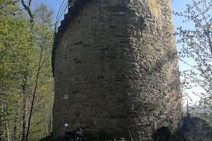Schellenturm in der Nähe von Bad Pyrmont.