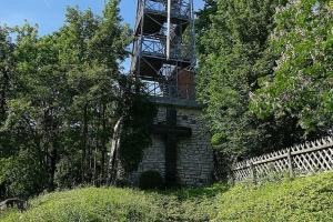 Der Bismarckturm in der Nähe von Salzgitter.