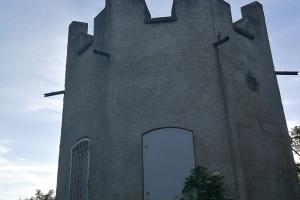 Jägerturm in der Nähe von Heere. Leider war er geschlossen.