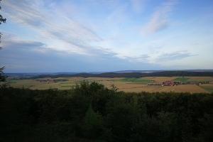 Blick aus Leineberglandbalkon.