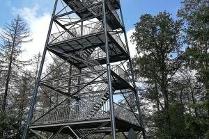 Bodoturm in der Nähe von Bodenwerder.