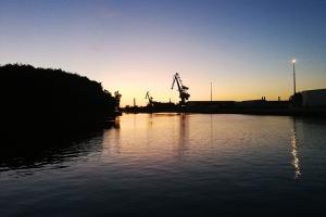 Morgen fruh in Nordhafen.