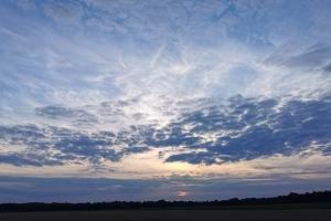 Meißendorfer Teiche 2020 - Sonnenuntergang in der Nähe von Celle.