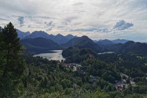 Tag 1 - unterwegs nach Füssen - Schloß Hohenschwangau weit von hier