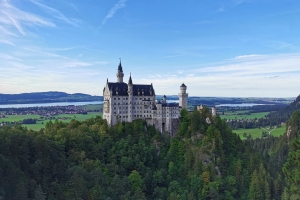 Tag 1 - unterwegs nach Füssen - Schloß Neuschwanstein