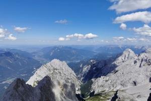 Zugspitze über Höllental - Fast auf dem Gipfel.
