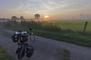Sonnenaufgang in der Nähe von Julious plate