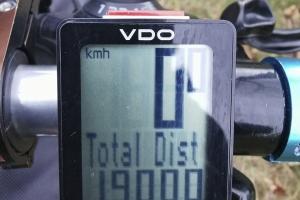 Regen - Nebel - Schlamm - 19000km - 19 000 hinter mir - schon viel.