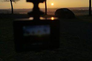 Sonnigtour - Sonne auf - Sonne unter - Sonnenaufgang auf Kronsberg