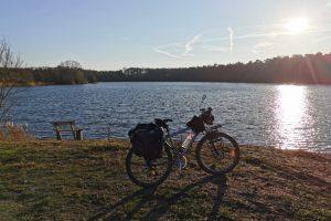Sonnigtour - Sonne auf - Sonne unter - am See