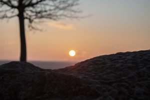 Sonnigtour - Sonne auf - Sonne unter - Auf Kronsberg
