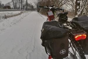 Auf Ith und 20 000 km - Schneealee