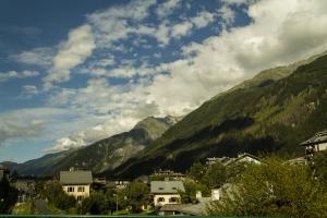 In Chamonix Frankreich.
