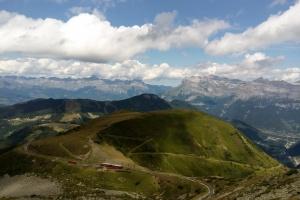 Col du Mont Lachat unten.