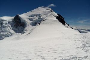 Mont Blank - Tag 4 - Mont Blank in der Weite.