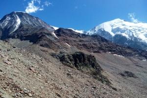 Mont Blank - Tag 5 - Unterwegs zum Domes de Miage.