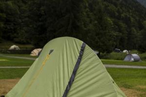 Mont Blank - Tag 5 - Campingplatz Domes de Miage.