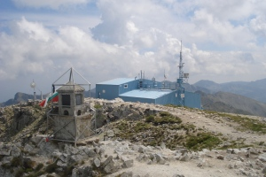Auf dem Gipfel Musala - 2925m.