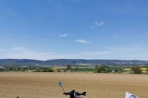 Radfahren - Wandern - Radfahren wieder zurzweit - Gehrdner Berg