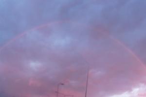 Blutregenbogen in der Nähe von Espoo