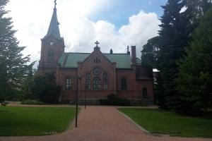 Die Kirche in Jäväskylä
