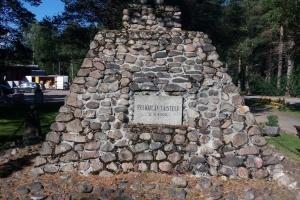 Denkmal in Pyhanta.
