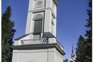 Die Kirche in Pukkila