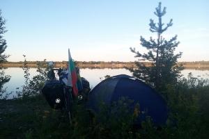 Zelten in der Nähe von Kemi