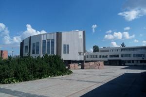 Das Rathaus in Rovaniemi