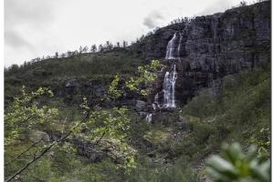 Wasserfall nach Alta.