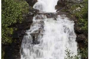 Wasserfall in der Nähe von Kautokeino