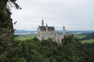 Tag 1 - Schlosstour - Schloss Neuschwanstein.