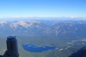 Tag 3 - auf Zugspitze - Den Blick und ein bulgarisches Bier genießen.