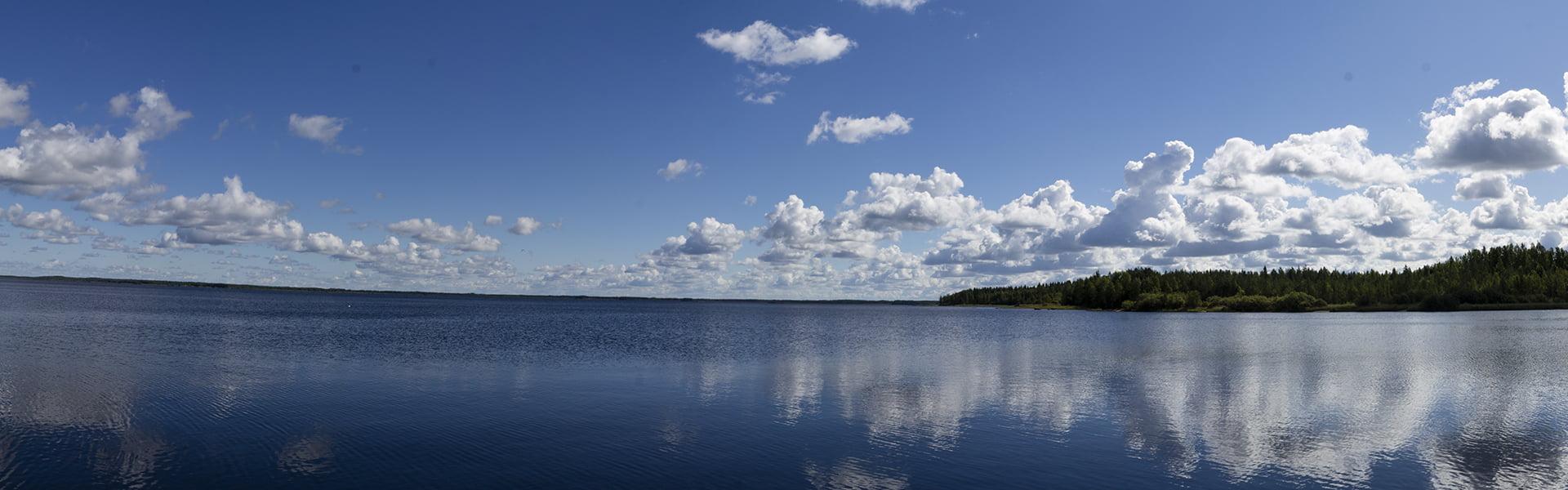 Landschaft in Finnland
