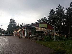 Tag 41 - Orakoski camping -nord, nord, nord....