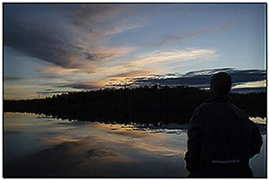 Tag 45 - Dievalijarvi - erste Nacht in Norwegien