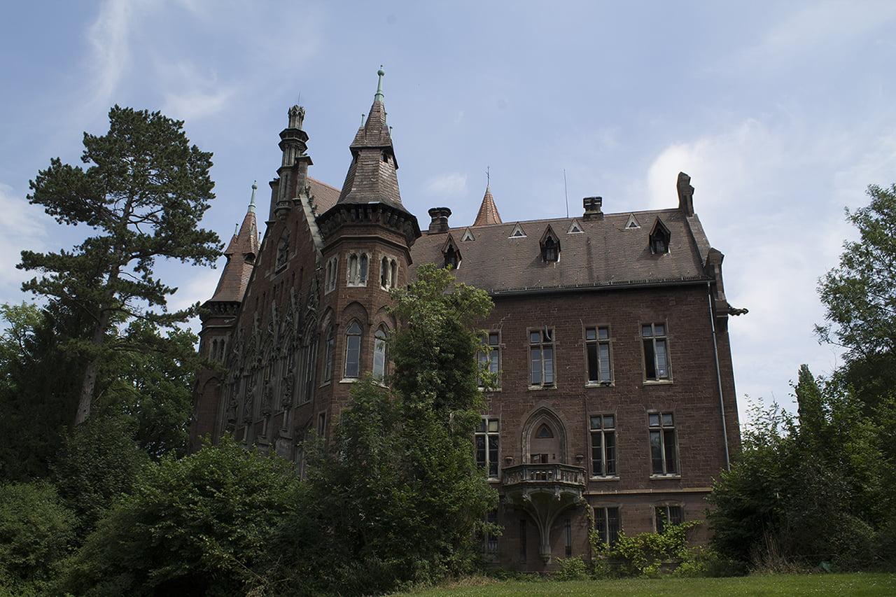 Schlossjägt in Richtung Hammeln