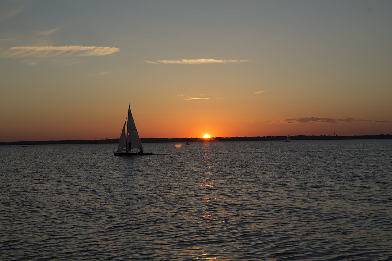 Steinhudermeer - Sonnenuntergang
