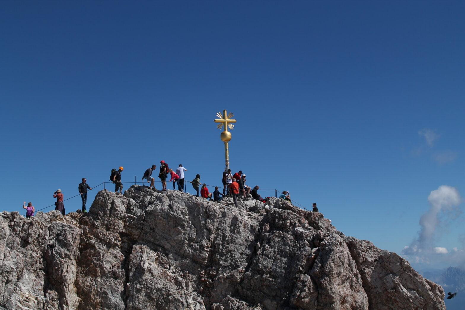 Tag 3 - auf Zugspitze