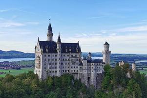 Tag 1 - unterwegs nach Füssen - Schloss Neuschwangau