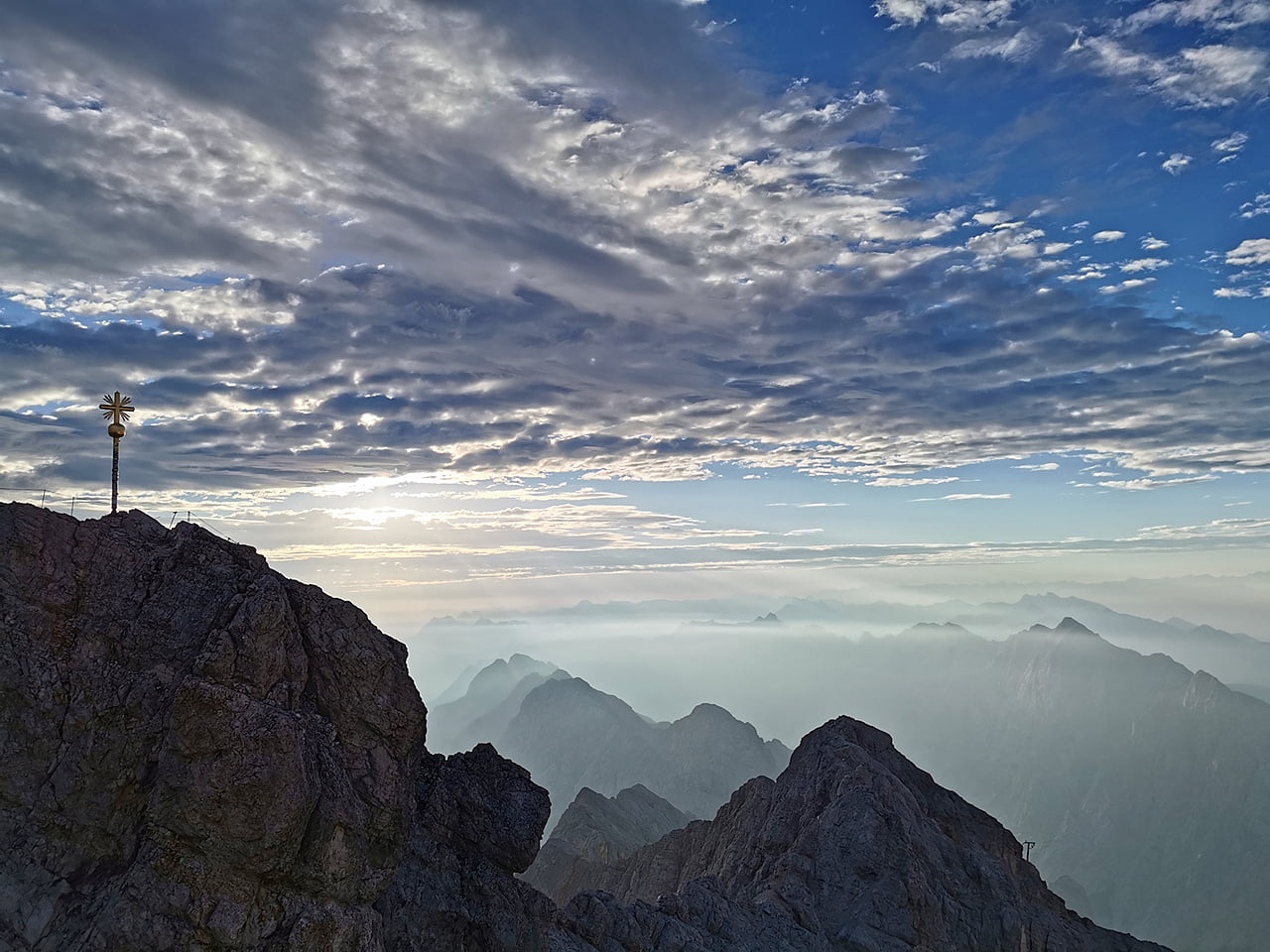 Zugspitze - Deutschland - über das Höllental - Bergsteigen